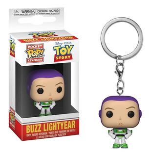 Funko Pop Keychain Buzz Lightyear Toy Story - Minijuegos