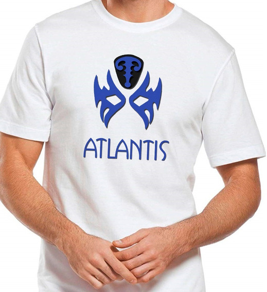 Playera Atlantis Lucha Libre Mascara Wrestling Camiset 02-90