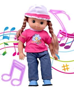 Muñeca Canta Juguete Infantil Niñas