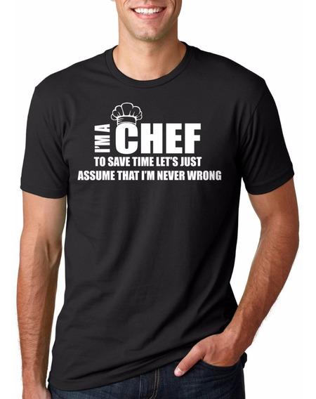 Playera Para Chef Ó Cocinero Ideal Para Regalo