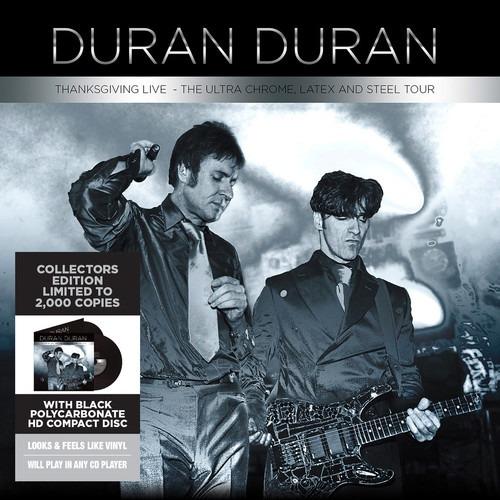 Duran Duran The Ultra Chrome Latex And Steel Tour Cd Us Imp