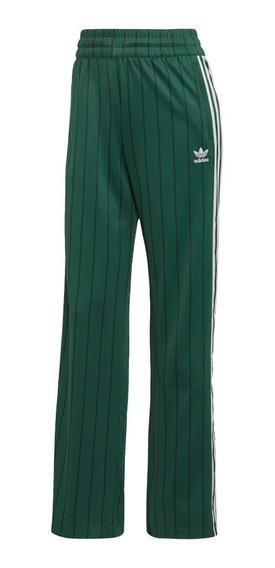 Pantalon adidas Originals Track Verde De Mujer