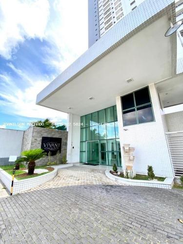 Imagem 1 de 15 de Apartamento Para Venda Em Natal, Lagoa Nova - Residencial Vivant, 4 Dormitórios, 3 Suítes, 5 Banheiros, 3 Vagas - Ap1724-vi_2-1162815