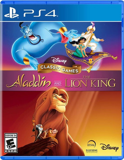 Disney Classic Games Aladdin An The Lion King Ps4