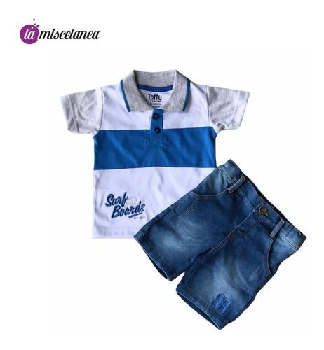 Conjunto De Camisa Y Short Para Niños Y Bebés