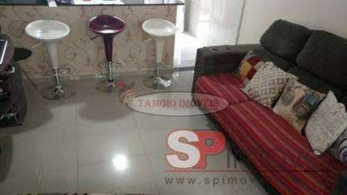 Imagem 1 de 7 de Condominio Fechado Em Condomínio Para Venda No Bairro Vila Curuçá, 2 Dorm, 1 Vagas, 55,00 M - 2904