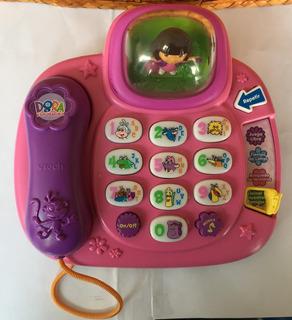 Teléfono De Dora La Exploradora Vtech Usado