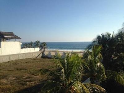 Excelente Terreno Venta Frente Al Mar, Coyuca De Benítez Gro