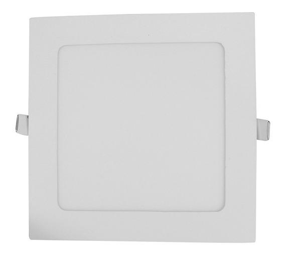 Panel Cuadrado P/empotrar 12 W Luz Fria 1263 Sanelec
