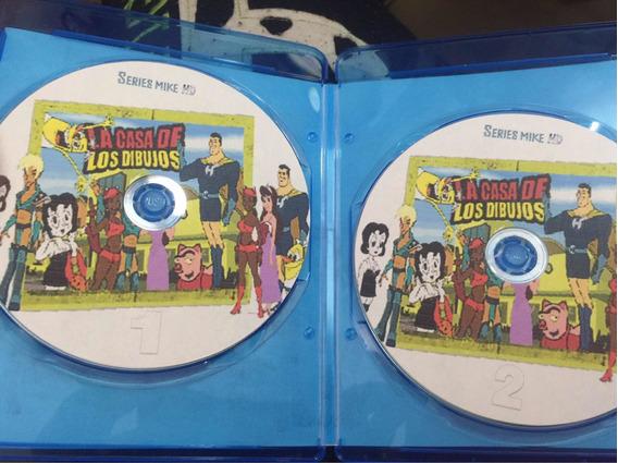 La Casa De Los Dibujos Serie Completa Latino Dvd