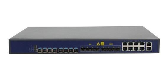 Epon Olt V1600 D8 1u 16 Ports 08 Pon + 4 Sfp + 4sfp 10g