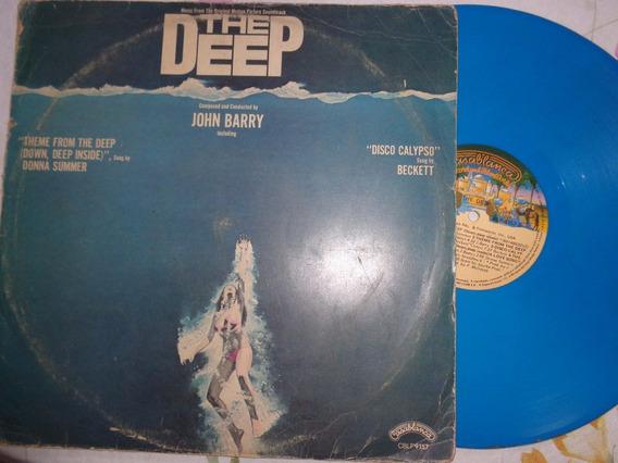 Lp The Deep, Trilha Filme1977 - Vinil Azul
