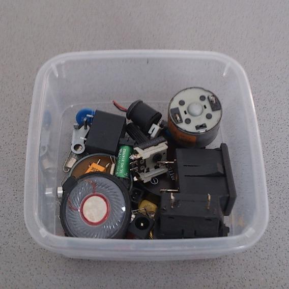 Sucatinha Eletrônica Miscelânea Componentes Eletronicos