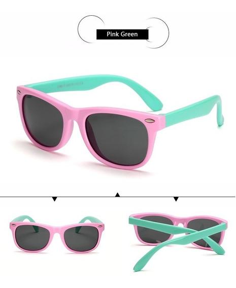 Óculos Sol Infantil Flexível Promoção Moda Verão Proteção Uv
