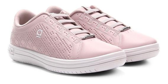 Tênis Azaleia Cadarço Elástico Feminino Rosa
