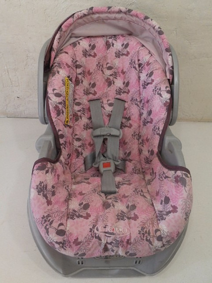 Silla Carro Auto Car Seat Portabebe Base Graco Rosa #459