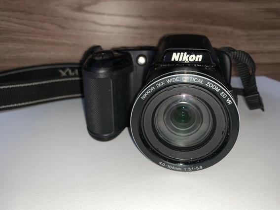 Câmera Fotográfica Semi Profissional Nikon L810