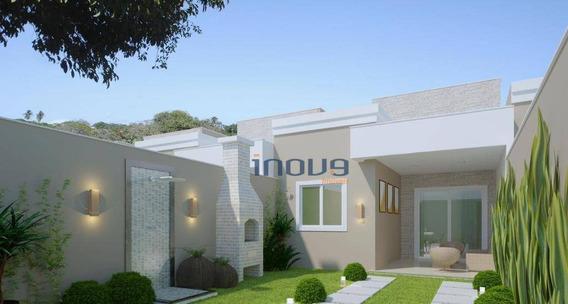 Casa Com 2 Dormitórios À Venda, 69 M² Por R$ 155.000 - Camurupim - Caucaia/ce - Ca0793