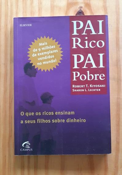Livro - Pai Rico, Pai Pobre - Robert T. Kiyosaki