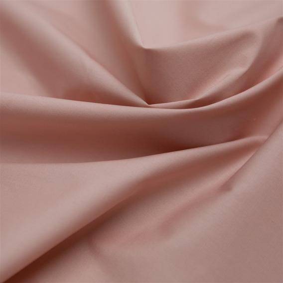 Tecido Tricoline Com Elastano Rosê