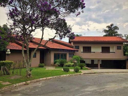 Imagem 1 de 30 de Linda Mansão - Em Condomínio Fechado - 5 Suítes - R$2.100.000,00 Venha Conferir!!!!! - Ca1527