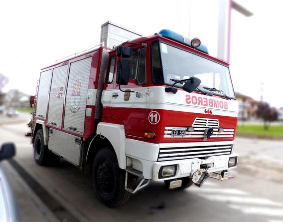 Autobomba Unidad De Rescate Daf 1800 4x4 Alta Y Baja
