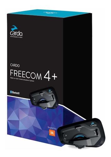 Intercomunicador Cardo Freecom 4+ Som Jbl Original Scala