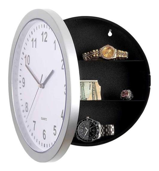 Reloj Clasico Pared Decoracion Caja Fuerte Seguridad Oculta