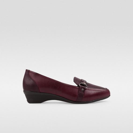 Zapato Cuña Para Dama Dorothy Gaynor Vino