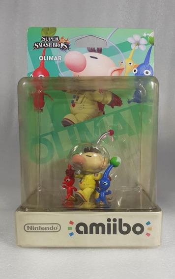Amiibo Olimar Super Smash Bros
