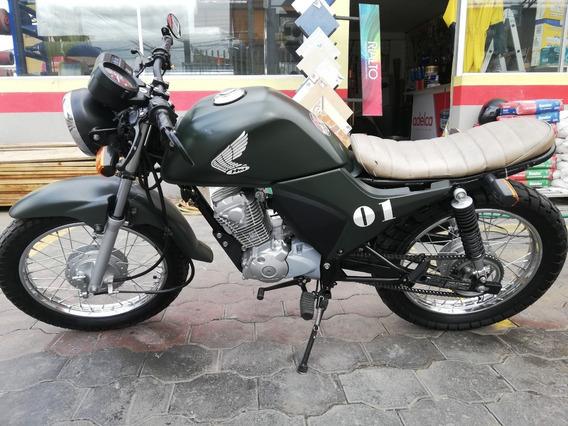 Moto Honda 125cc Cafe Racer
