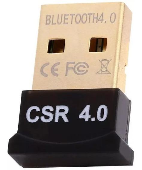 Adaptador Bluetooth Usb 4.0 Para Pc Windows 8 10 Dongle