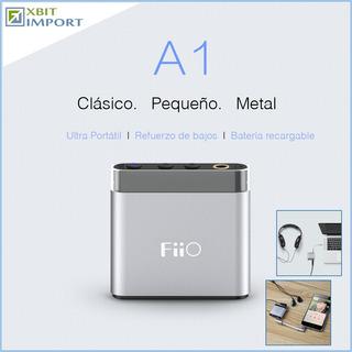 Fiio A1 - Amplificador Portátil Bolsillo P/ Mp3 Mp4 Celular