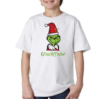 Remera Niño Niña Harry Potter Grinchffindor Grinch Navidad
