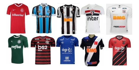 Kit 30 Camisas De Time Futebol Atacado Para Revenda Promoção
