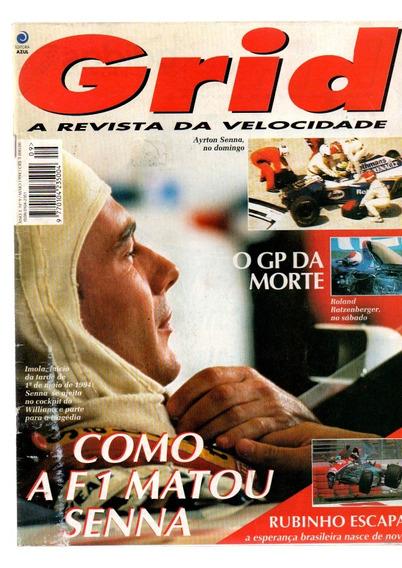 Revista Grid Ayrton Senna Como A F 1 Matou Senna #9 Ano 1994