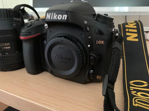 Nikon D610 Com Duas Lentes (24-85 E 70-300 Mm)