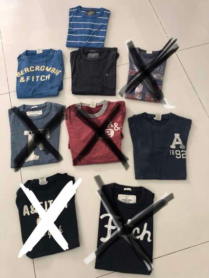 Remera Abercrombie & Fitch Hombre