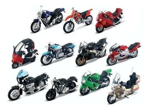 Clarín Colección Motos De Leyenda Set 4 Con 12 Motos