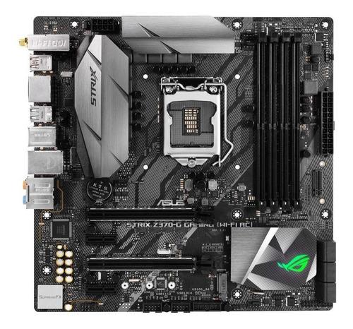 Placa-mãe Asus Rog Strix Z370-g Gaming (wi-fi Ac) Lga 1151