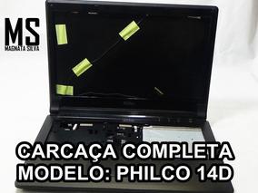 Carcaça Completa Do Notebook Philco 14d
