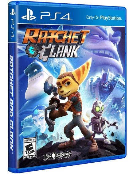 Jogo Ratchet E Clank Playstation 4 Ps4 Disco Fisico Lacrado