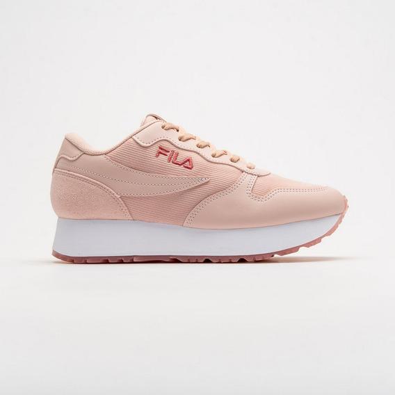 Zapatillas Fila De Mujer Euro Rosa Jogger Wedge