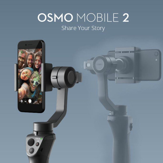Estabilizador Suporte Gimbal Dji Osmo Mobile2 Celular