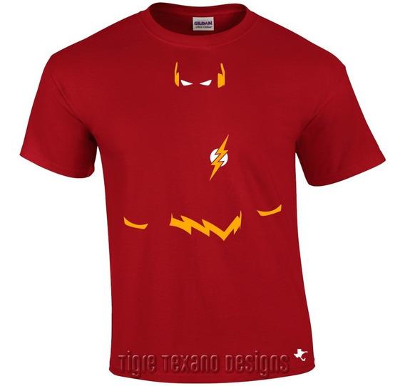 Playera Super Héroes Flash Mod. 02 By Tigre Texano Designs