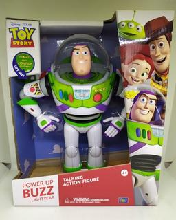 Figura Buzz Lightyear Toy Story Voz Original En Inglés Pixar