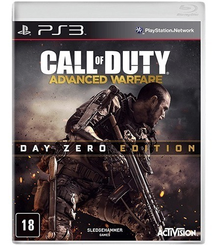 Call Of Duty Advanced Warfare Edição Day Zero - Ps3 Lacrado