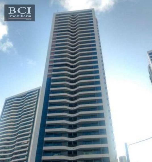 Apartamento Novo Com 3 Dormitórios Para Alugar, 99 M² Por R$ 2.900/mês - Boa Viagem - Recife/pe - Ap0489
