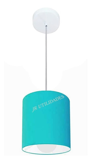 Pendente Lustre Teto 19x17 Cm Cúpula Tiffany Pq