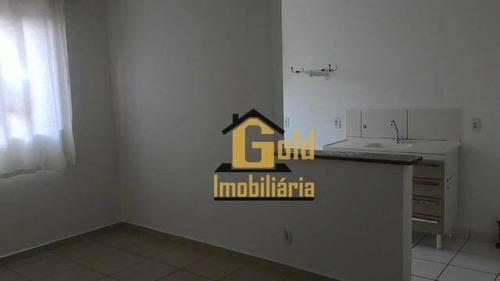 Apartamento Com 2 Dormitórios Para Alugar, 46 M² Por R$ 750,00/mês - Parque Industrial Lagoinha - Ribeirão Preto/sp - Ap1944